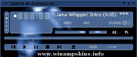 Blood Winamp Skin by Morgenrote