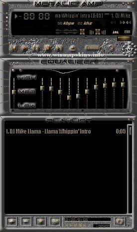 metallic amp