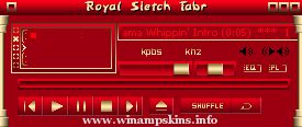Royal Winamp by FasterKittyCat