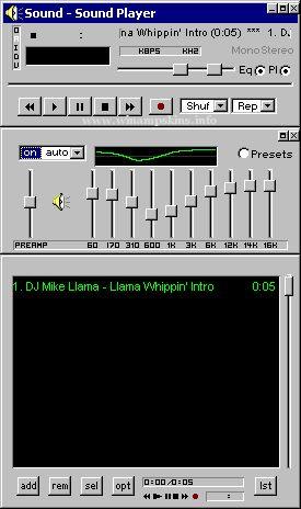 Sound Player download winamp skins