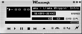 Winamp XP SP1 Blue
