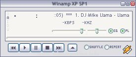 Winamp XP SP1 Silver